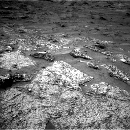 Nasa's Mars rover Curiosity acquired this image using its Left Navigation Camera on Sol 3185, at drive 2310, site number 89