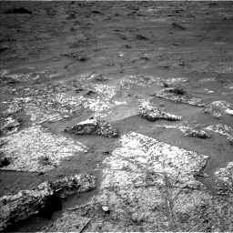 Nasa's Mars rover Curiosity acquired this image using its Left Navigation Camera on Sol 3185, at drive 2322, site number 89