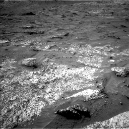 Nasa's Mars rover Curiosity acquired this image using its Left Navigation Camera on Sol 3185, at drive 2352, site number 89