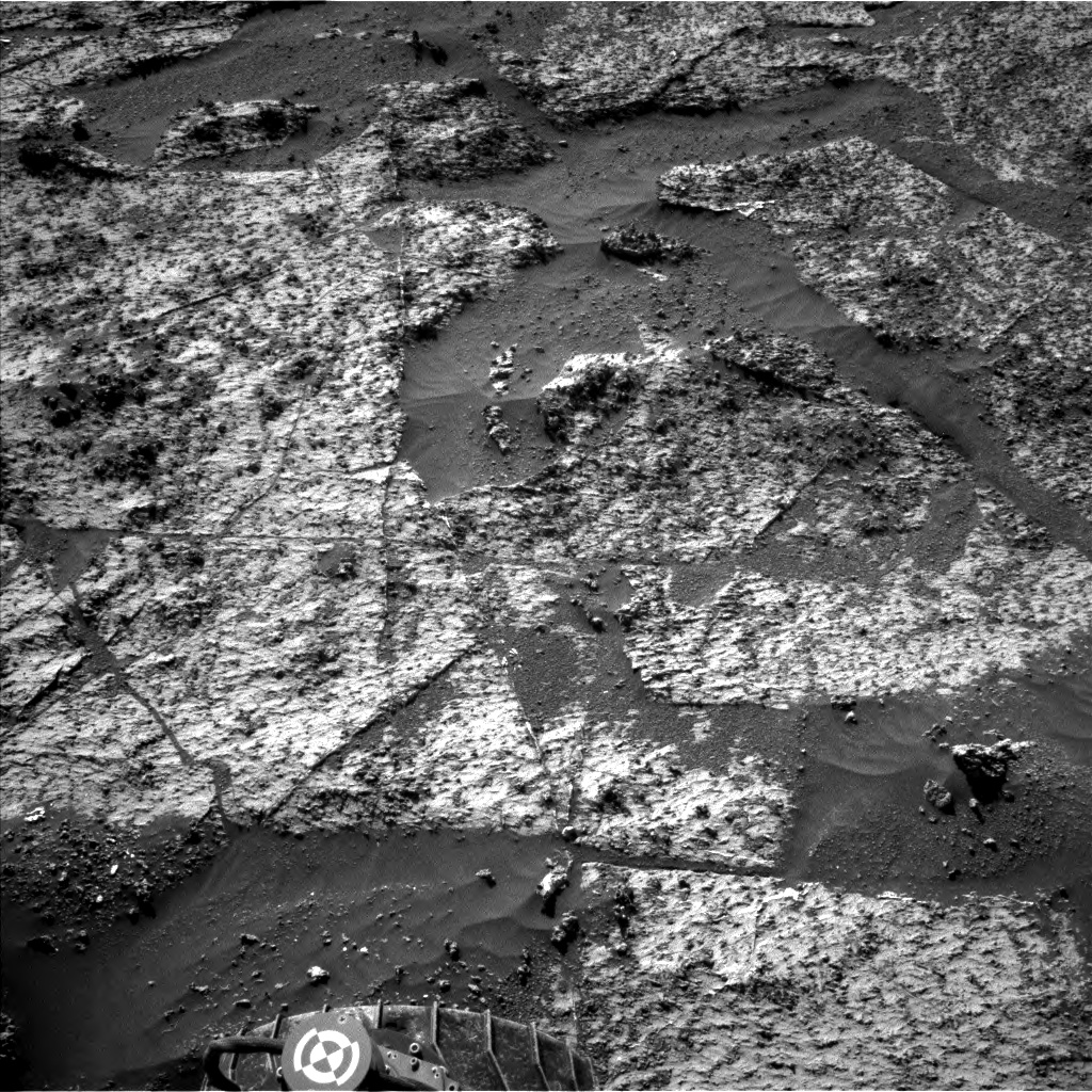 Nasa's Mars rover Curiosity acquired this image using its Left Navigation Camera on Sol 3185, at drive 2380, site number 89