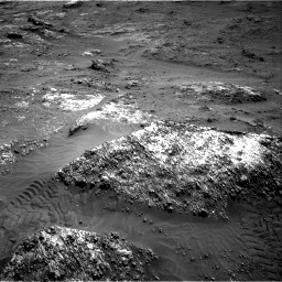 Nasa's Mars rover Curiosity acquired this image using its Right Navigation Camera on Sol 3185, at drive 2070, site number 89