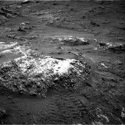 Nasa's Mars rover Curiosity acquired this image using its Right Navigation Camera on Sol 3185, at drive 2076, site number 89