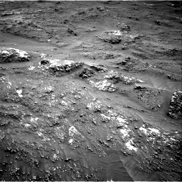 Nasa's Mars rover Curiosity acquired this image using its Right Navigation Camera on Sol 3185, at drive 2088, site number 89