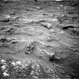 Nasa's Mars rover Curiosity acquired this image using its Right Navigation Camera on Sol 3185, at drive 2100, site number 89