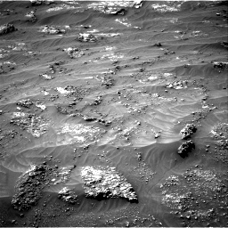 Nasa's Mars rover Curiosity acquired this image using its Right Navigation Camera on Sol 3185, at drive 2148, site number 89