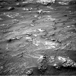 Nasa's Mars rover Curiosity acquired this image using its Right Navigation Camera on Sol 3185, at drive 2154, site number 89