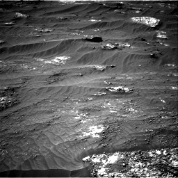 Nasa's Mars rover Curiosity acquired this image using its Right Navigation Camera on Sol 3185, at drive 2202, site number 89