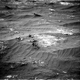 Nasa's Mars rover Curiosity acquired this image using its Right Navigation Camera on Sol 3185, at drive 2226, site number 89