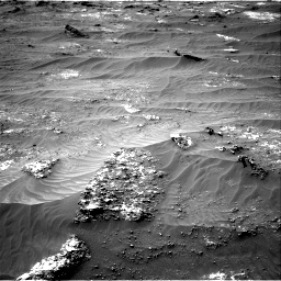 Nasa's Mars rover Curiosity acquired this image using its Right Navigation Camera on Sol 3185, at drive 2238, site number 89