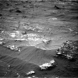 Nasa's Mars rover Curiosity acquired this image using its Right Navigation Camera on Sol 3185, at drive 2244, site number 89