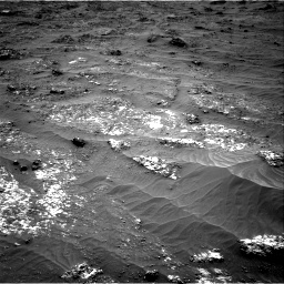 Nasa's Mars rover Curiosity acquired this image using its Right Navigation Camera on Sol 3185, at drive 2250, site number 89