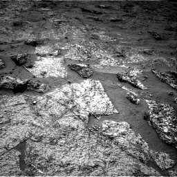 Nasa's Mars rover Curiosity acquired this image using its Right Navigation Camera on Sol 3185, at drive 2286, site number 89