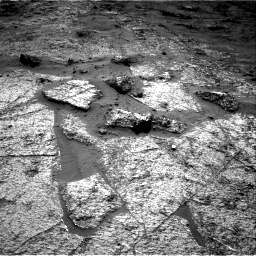 Nasa's Mars rover Curiosity acquired this image using its Right Navigation Camera on Sol 3185, at drive 2292, site number 89