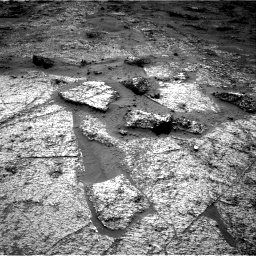 Nasa's Mars rover Curiosity acquired this image using its Right Navigation Camera on Sol 3185, at drive 2298, site number 89