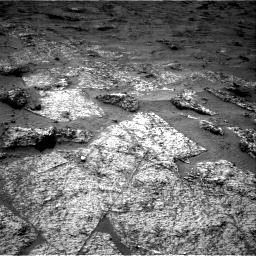 Nasa's Mars rover Curiosity acquired this image using its Right Navigation Camera on Sol 3185, at drive 2304, site number 89