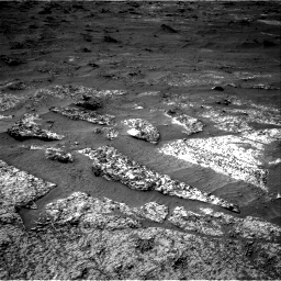 Nasa's Mars rover Curiosity acquired this image using its Right Navigation Camera on Sol 3185, at drive 2316, site number 89