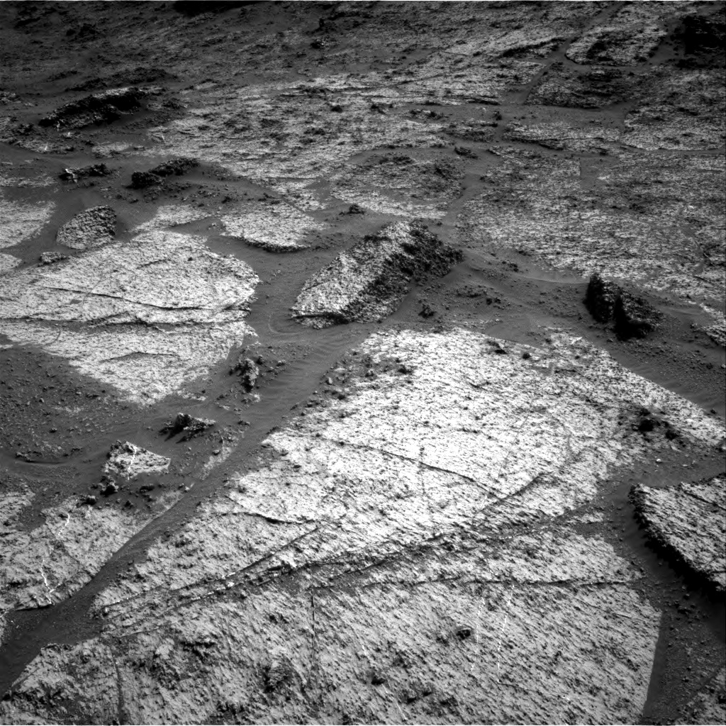 Nasa's Mars rover Curiosity acquired this image using its Right Navigation Camera on Sol 3185, at drive 2328, site number 89