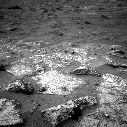Nasa's Mars rover Curiosity acquired this image using its Right Navigation Camera on Sol 3185, at drive 2334, site number 89