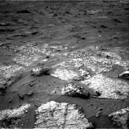 Nasa's Mars rover Curiosity acquired this image using its Right Navigation Camera on Sol 3185, at drive 2340, site number 89
