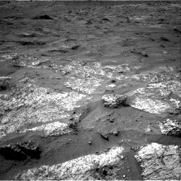 Nasa's Mars rover Curiosity acquired this image using its Right Navigation Camera on Sol 3185, at drive 2346, site number 89