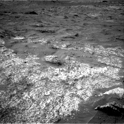 Nasa's Mars rover Curiosity acquired this image using its Right Navigation Camera on Sol 3185, at drive 2358, site number 89