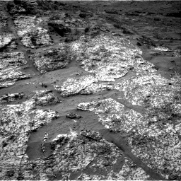 Nasa's Mars rover Curiosity acquired this image using its Right Navigation Camera on Sol 3185, at drive 2376, site number 89