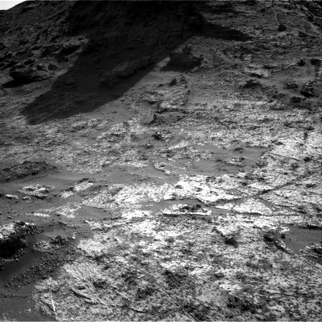 Nasa's Mars rover Curiosity acquired this image using its Right Navigation Camera on Sol 3185, at drive 2380, site number 89