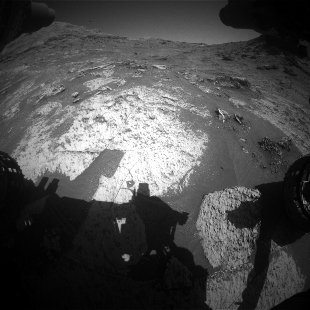 Nasa's Mars rover Curiosity acquired this image using its Front Hazard Avoidance Camera (Front Hazcam) on Sol 3186, at drive 2380, site number 89