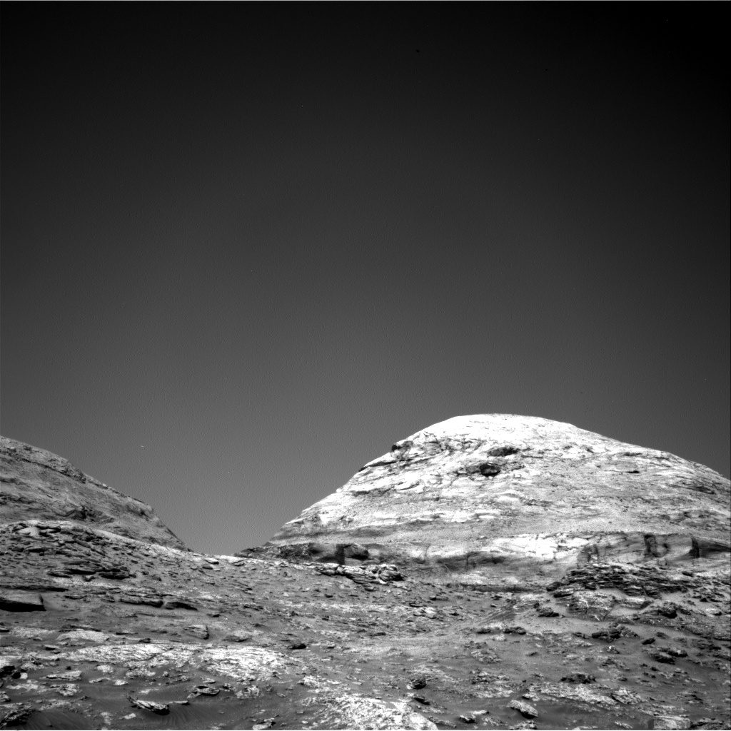 Nasa's Mars rover Curiosity acquired this image using its Right Navigation Camera on Sol 3186, at drive 2380, site number 89