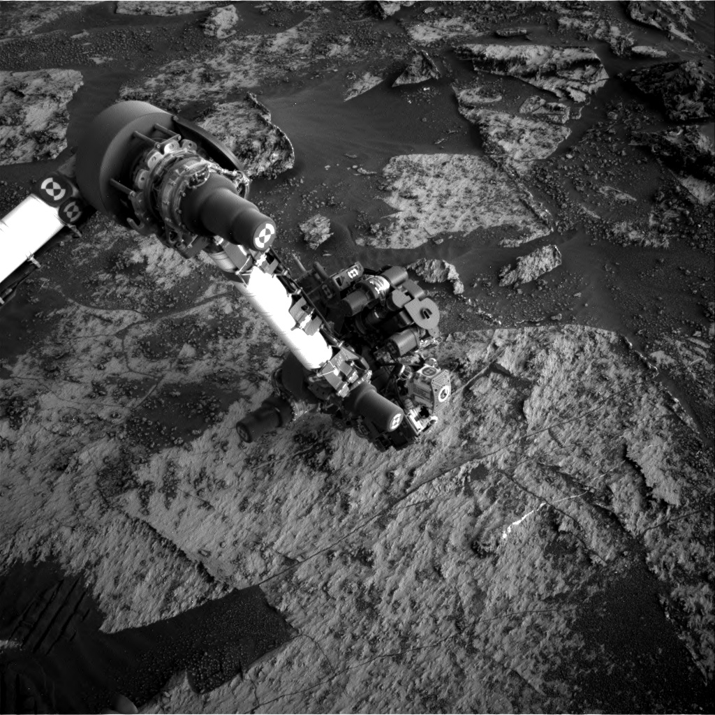 Nasa's Mars rover Curiosity acquired this image using its Right Navigation Camera on Sol 3187, at drive 2380, site number 89