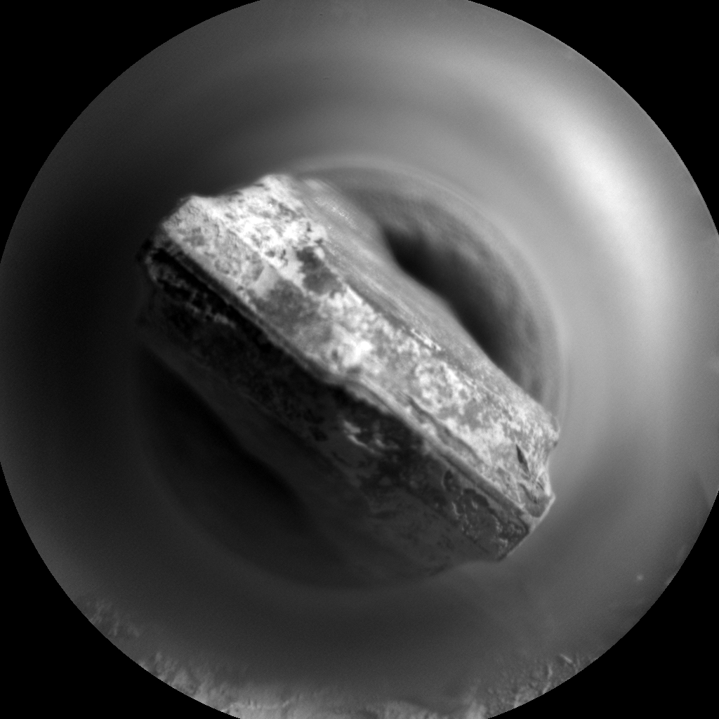 Nasa's Mars rover Curiosity acquired this image using its Chemistry & Camera (ChemCam) on Sol 3187, at drive 2380, site number 89