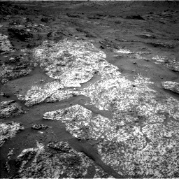 Nasa's Mars rover Curiosity acquired this image using its Left Navigation Camera on Sol 3188, at drive 2392, site number 89