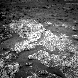 Nasa's Mars rover Curiosity acquired this image using its Left Navigation Camera on Sol 3188, at drive 2404, site number 89