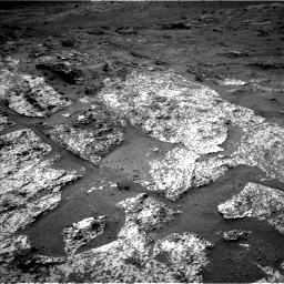 Nasa's Mars rover Curiosity acquired this image using its Left Navigation Camera on Sol 3188, at drive 2410, site number 89