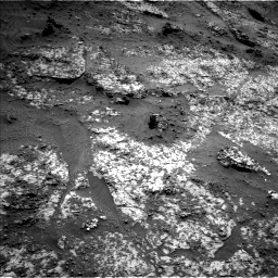 Nasa's Mars rover Curiosity acquired this image using its Left Navigation Camera on Sol 3188, at drive 2446, site number 89