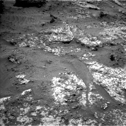 Nasa's Mars rover Curiosity acquired this image using its Left Navigation Camera on Sol 3188, at drive 2452, site number 89