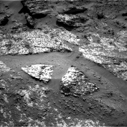 Nasa's Mars rover Curiosity acquired this image using its Left Navigation Camera on Sol 3188, at drive 2518, site number 89