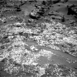 Nasa's Mars rover Curiosity acquired this image using its Left Navigation Camera on Sol 3188, at drive 2536, site number 89