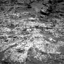 Nasa's Mars rover Curiosity acquired this image using its Left Navigation Camera on Sol 3188, at drive 2542, site number 89
