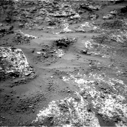 Nasa's Mars rover Curiosity acquired this image using its Left Navigation Camera on Sol 3188, at drive 2614, site number 89
