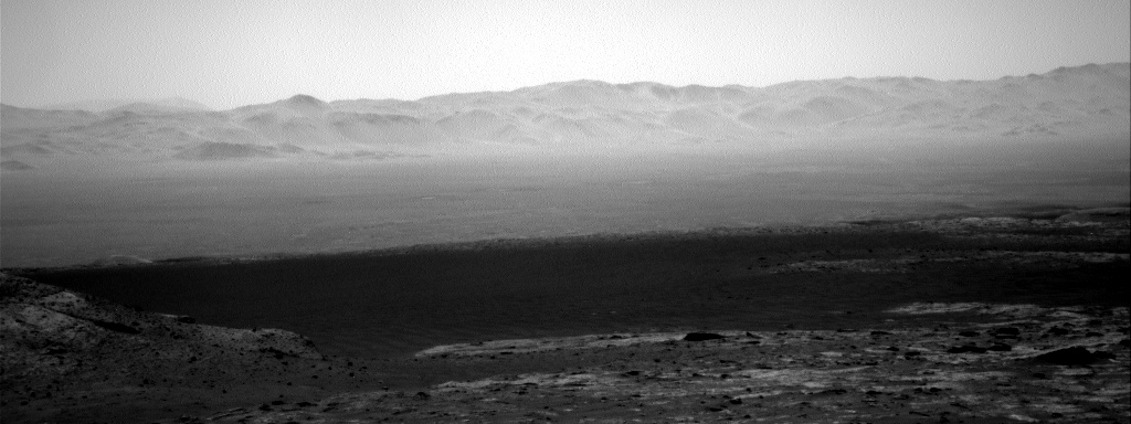 Nasa's Mars rover Curiosity acquired this image using its Right Navigation Camera on Sol 3188, at drive 2380, site number 89