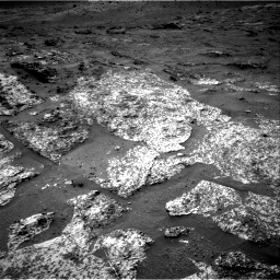 Nasa's Mars rover Curiosity acquired this image using its Right Navigation Camera on Sol 3188, at drive 2410, site number 89