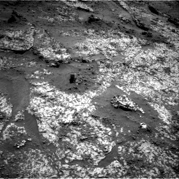 Nasa's Mars rover Curiosity acquired this image using its Right Navigation Camera on Sol 3188, at drive 2446, site number 89