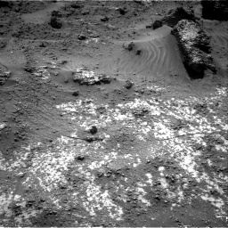 Nasa's Mars rover Curiosity acquired this image using its Right Navigation Camera on Sol 3188, at drive 2476, site number 89