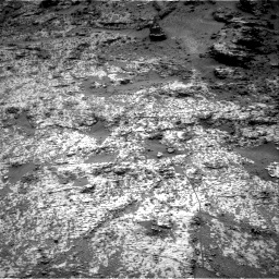 Nasa's Mars rover Curiosity acquired this image using its Right Navigation Camera on Sol 3188, at drive 2548, site number 89