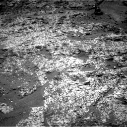 Nasa's Mars rover Curiosity acquired this image using its Right Navigation Camera on Sol 3188, at drive 2554, site number 89