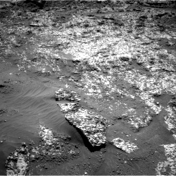 Nasa's Mars rover Curiosity acquired this image using its Right Navigation Camera on Sol 3188, at drive 2566, site number 89