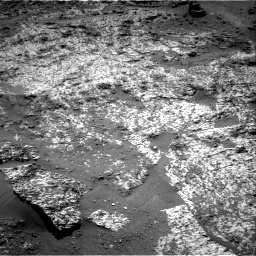Nasa's Mars rover Curiosity acquired this image using its Right Navigation Camera on Sol 3188, at drive 2572, site number 89
