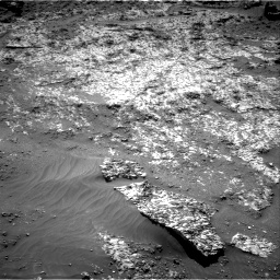Nasa's Mars rover Curiosity acquired this image using its Right Navigation Camera on Sol 3188, at drive 2578, site number 89