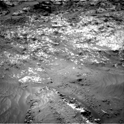 Nasa's Mars rover Curiosity acquired this image using its Right Navigation Camera on Sol 3188, at drive 2590, site number 89